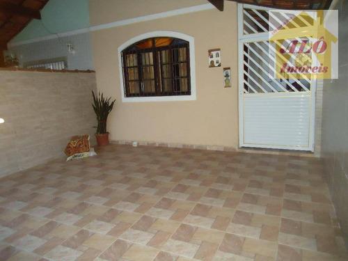 Casa À Venda, 92 M² Por R$ 360.000,00 - Vila Guilhermina - Praia Grande/sp - Ca0025