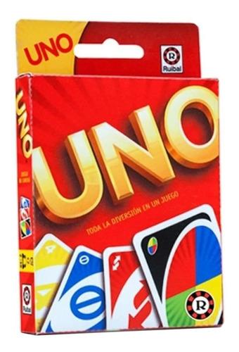 Imagen 1 de 3 de Juego de cartas Uno Ruibal
