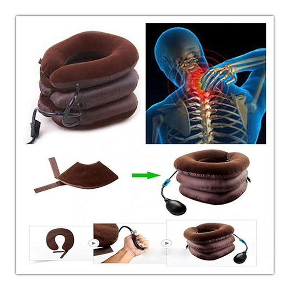 Dolor Cuello Collarin Inflable Terapia Espalda Hombro