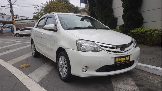 Toyota Etios Sedan 1.5 Xls Flex Único Dono Completo 2014