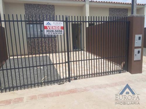 Imagem 1 de 21 de Casa Com 3 Dormitórios À Venda, 73 M² Por R$ 190.000,00 - Jardim Moema - Londrina/pr - Ca1271