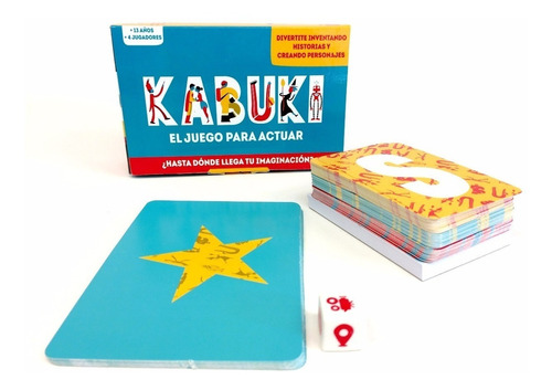 Kabuki El Juego Para Actuar +13 Años Didactikids
