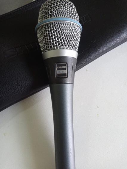 Microfone Shure Beta 87 - Usado Original Usa