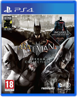 Batman Arkham Collection / Juego Físico / Ps4