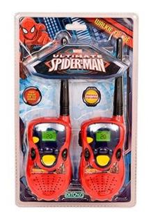 Walkie Talkies Spiderman Licencia Original Ditoys