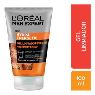 Gel Limpieza Antifatiga Men Expert Hydra Energetic, 100ml