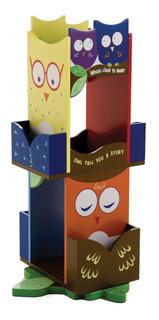 Wildkin Búhos Revolving Kids Librería,