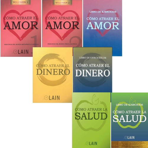 Imagen 1 de 9 de Pack Como Atraer Dinero + Amor + Salud - Lain Garcia Calvo