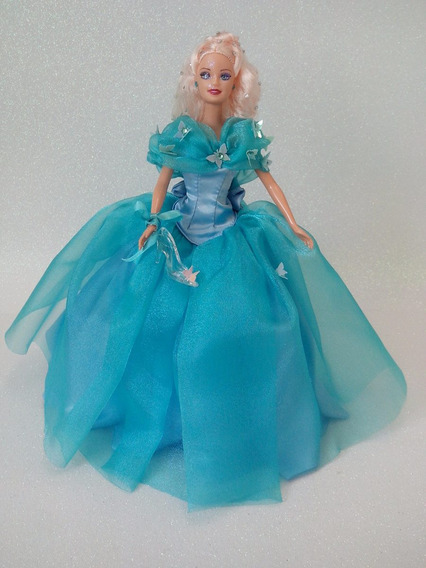 Boneca Barbie Cinderela Cinema