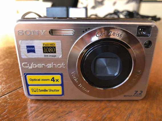 Câmera Digital Sony Cybershot Dsc W35 7.2 Megapixels