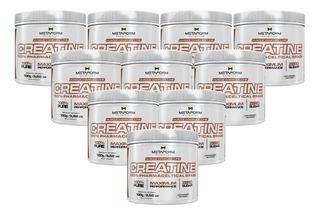 Combo Atacado 10x Creatine 100% 100g - Metaform Nutrition