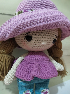 Reina Roja Crochet Tejido A Mano