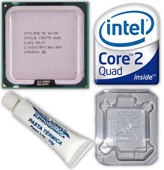 Processador 775 Intel Core 2 Quad Q6700 2.66ghz 8mb Cache