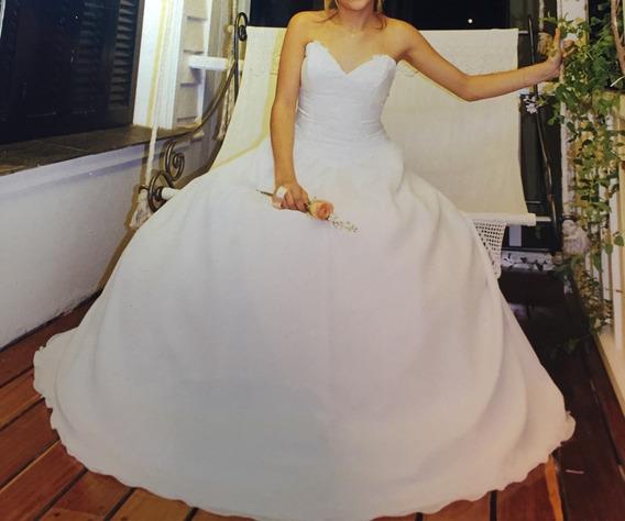 Vestido De 15 Años - Blanco De Diseño - Nuevo