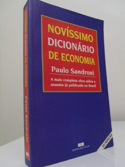 Novíssimo Dicionário De Economia (10ª Ed.) - Paulo Sandroni