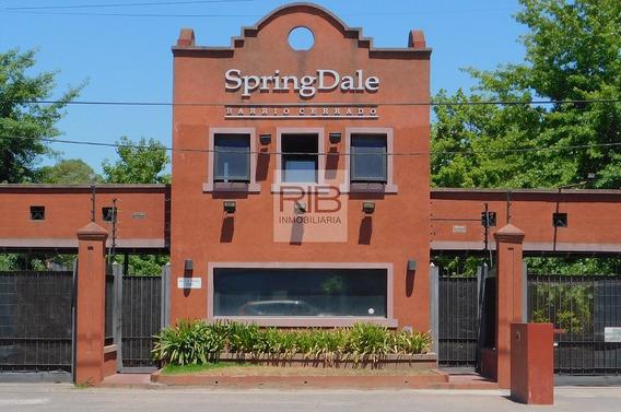 Lote Central De 1768 M2 - Springdale - Pilar - Venta