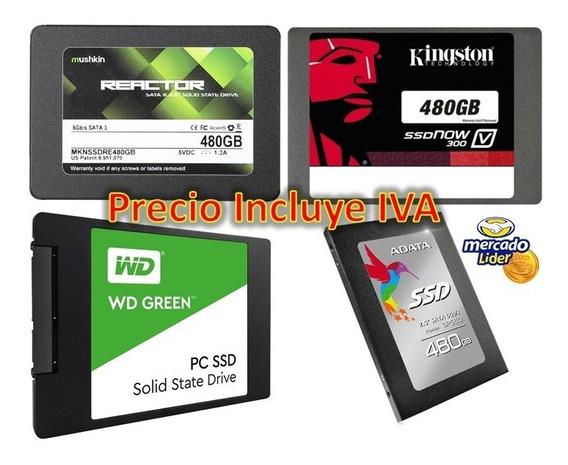 Disco Duro Solido Ssd 480gb 512gb Interno Nuevos Inc Iva