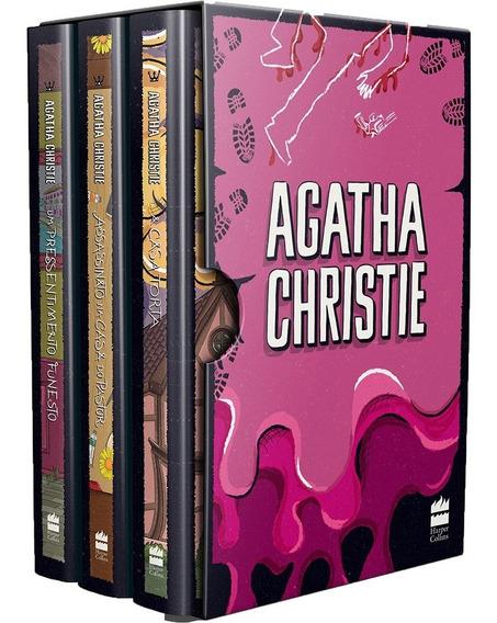 Coleção Agatha Christie Box 7 - 3 Volumes