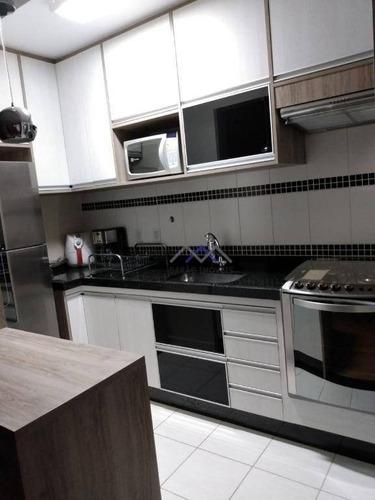 Imagem 1 de 19 de Apartamento Com 2 Dormitórios À Venda, 60 M² Por R$ 329.000,00 - Bosque Dos Jacarandás - Jundiaí/sp - Ap1616