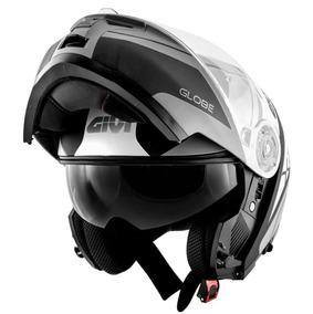 Capacete Givi X21 Globe Preto/branco/cinza