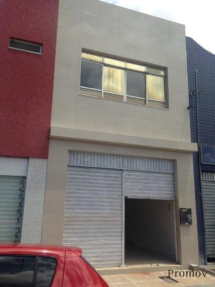 Sala Comercial Com Apartamento No Piso Superior. - Pt0011