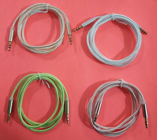 Cable De Audio Para Celular Y Auriculares 0.99m