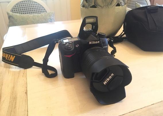 Câmera Nikon D7000 + Lente 18-105 + Acessórios Completo