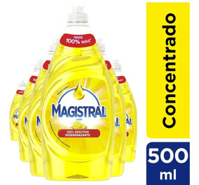 Pack 6 Lavalozas Concentrado Magistral Limón 500 Ml