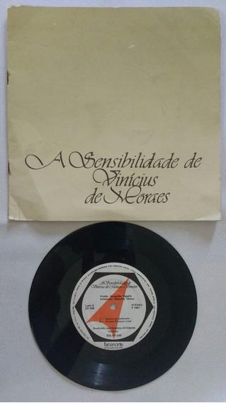 Compacto Vinil Sensibilidade Vinicius De Moraes Frete Grátis