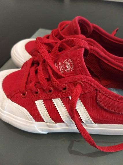 Zapatillas adidas Rojas Niño Como Nuevas