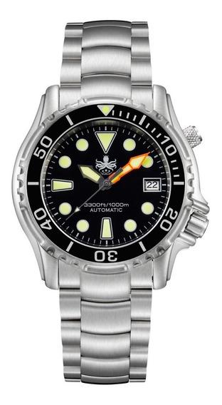 Phoibos Py005c Diver Automático Mergulho Profissional 1000m