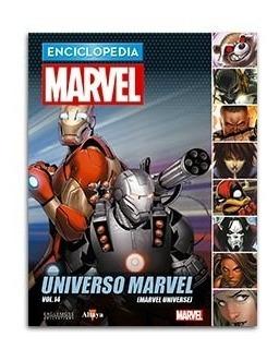 Comic Enciclopedia Marvel # 79 Universo Marvel Vol. 04