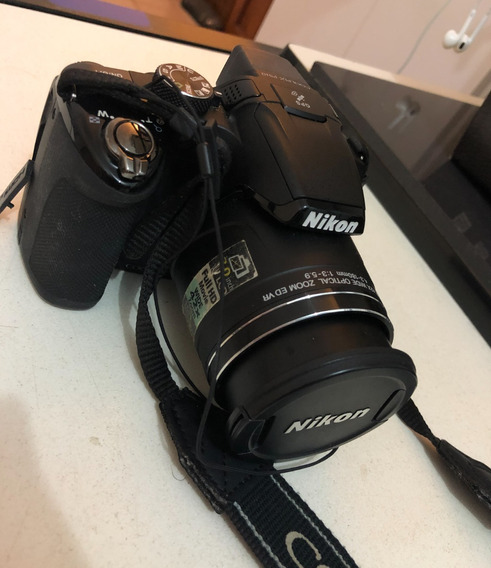 Câmera Nikon Coolpix P510 Semiprofissional Pouco Usada