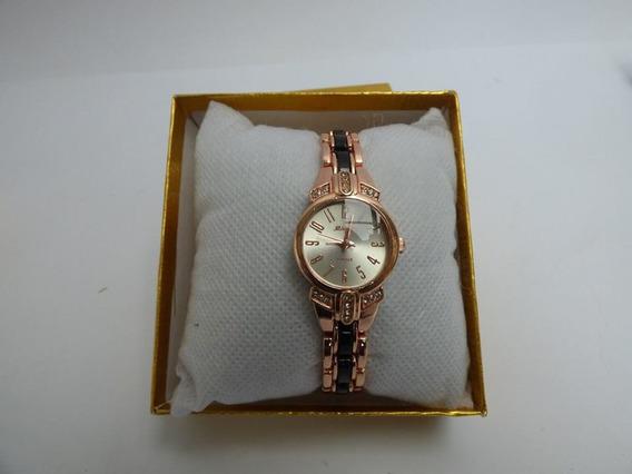 Elegante Reloj Para Mujer Reloj Rosado Quartz