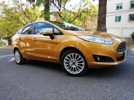 Ford Fiesta 1.6 Titanium Sedan At 2016