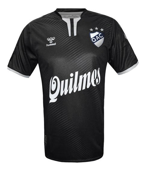 Camiseta Alternativa Quilmes Hummel 2020 Original Negra