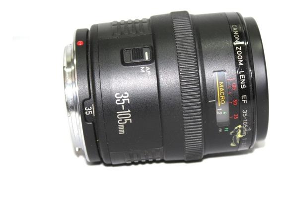 Lente Ef Canon 35-105mm 3.5-4.5 Leia O Anuncio