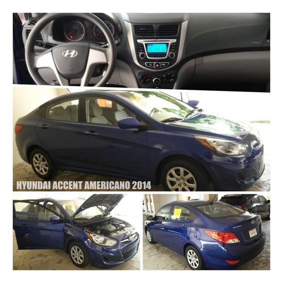 Hyundai Accent 2014 Recien Importado De Oportunidad!!!