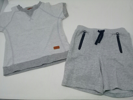 Conjunto 7 For All Mankind Gris Unisex. La Segunda Bazar