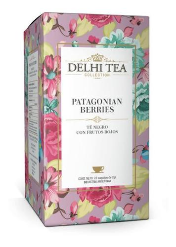 Imagen 1 de 2 de Te Premium Delhi Tea X 20 Saq. Patagonian Berries