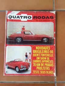 Revista Quatro Rodas - Nº 65 - Dezembro De 1965