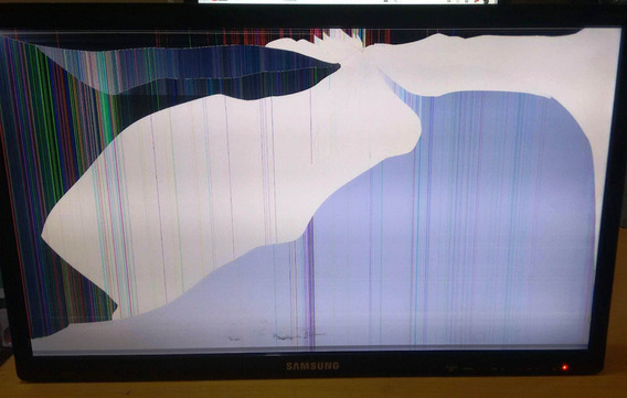 Tv Samsung T22c310lb - Retirada De Peças E Cabos