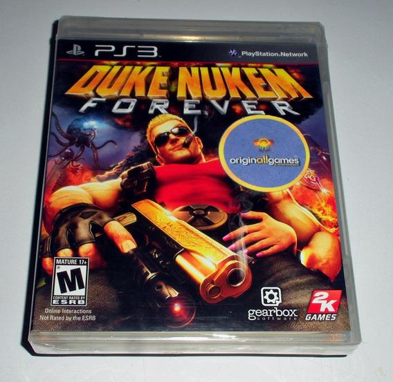 Duke Nukem Forever ¦ Jogo Ps3 Original Lacrado ¦ Míd Física