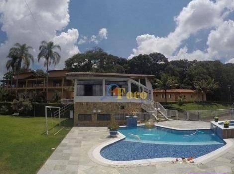 Imagem 1 de 18 de Chácara Com 6 Dormitórios À Venda, 10000 M² Por R$ 1.950.000,00 - Residencial Moenda - Itatiba/sp - Ch0176