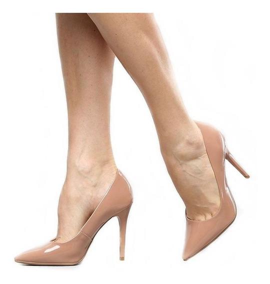 Sapato Scarpin Salto Agulha 10cm Alto Nova Coleção 2020