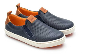 Tênis Slip On Gambo Marrakesh Marinho