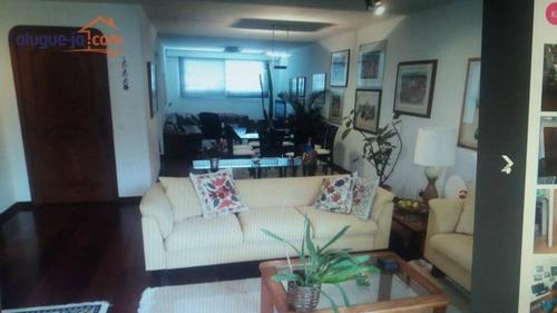 Área Gourmet.  Apartamento 4 Dormitórios, 214 M² Por R$ 875.000 - Vila Adyana - São José Dos Campos/sp - Ap12272