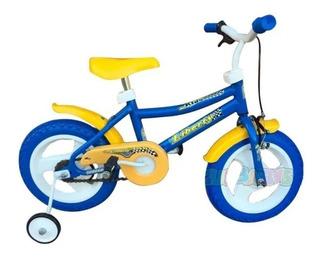 Oportunidad Nueva: Bicicleta Liberty Rodado 12 Con Rueditas