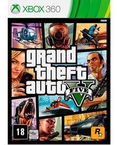 Gta V - Grand Theft Auto 5 - Xbox 360 - Midia Fisica Lacrado