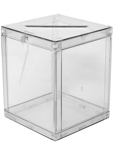 Imagem 1 de 5 de Urna Cristal Em Abs Cubo Isoflex